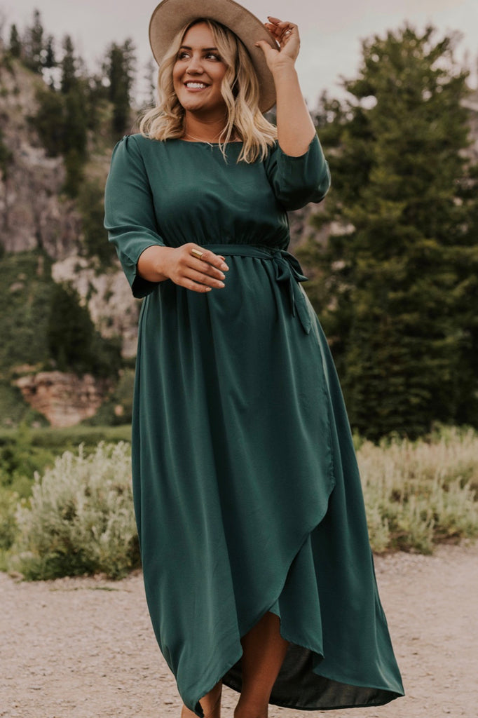 Wrap Maxi Dresses for Fall | ROOLEE