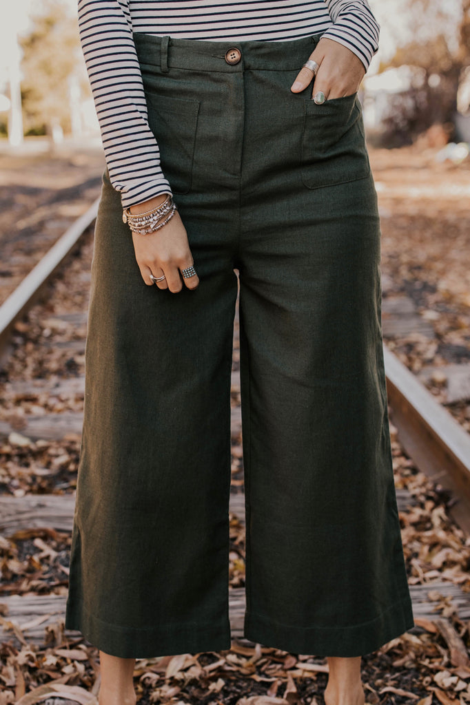 The Terran Trousers in Forest | ROOLEE Pants