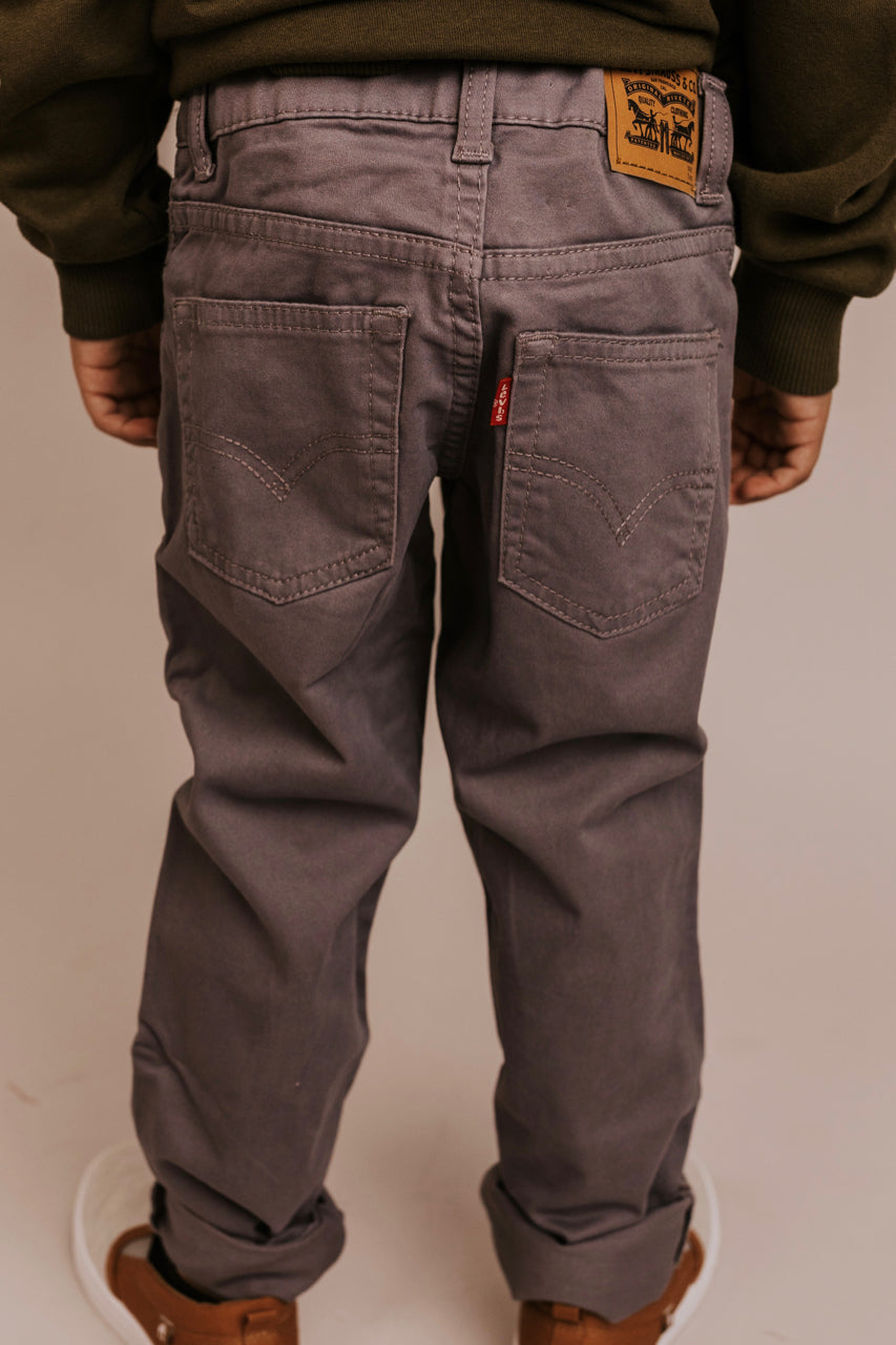Grey Pants For Boys | ROOLEE