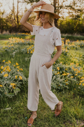 Stripe Lightweight Jumpsuit | ROOLEE