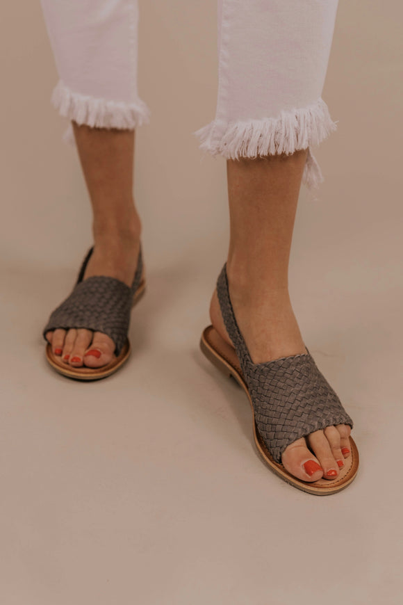 Strappy Woven Sandals | ROOLEE