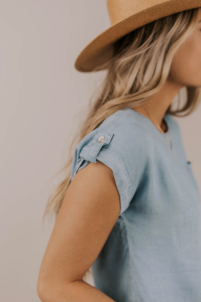 Button Detail Top | ROOLEE