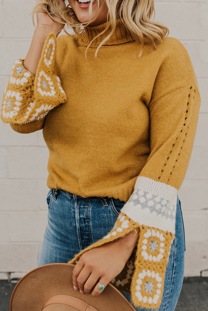 Bell Sleeve Sweater | ROOLEE