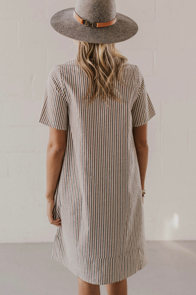 Striped Smock Dress | ROOLEE
