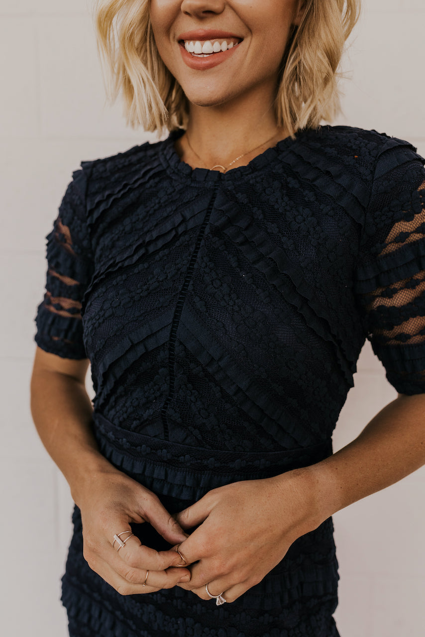 Floral Lace Dress | ROOLEE