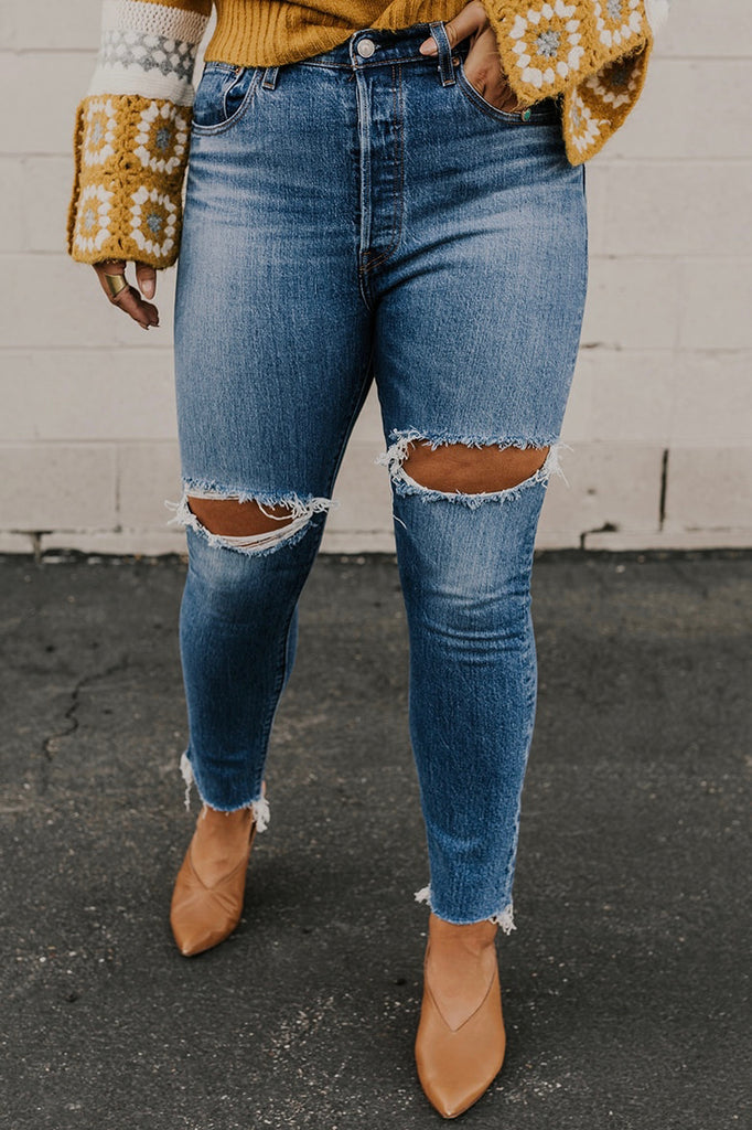 Distressed Levis | ROOLEE