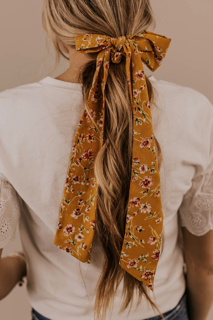 Floral Hair Scrunchie | ROOLEE