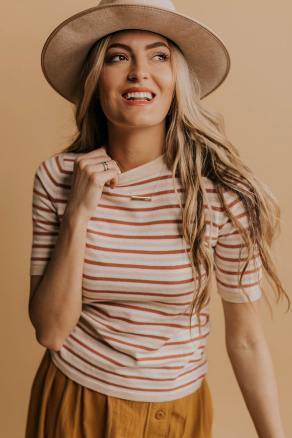 Keely Stripe Top