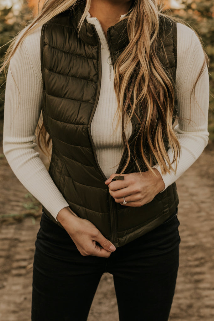 Zip Up Winter Vest | ROOLEE