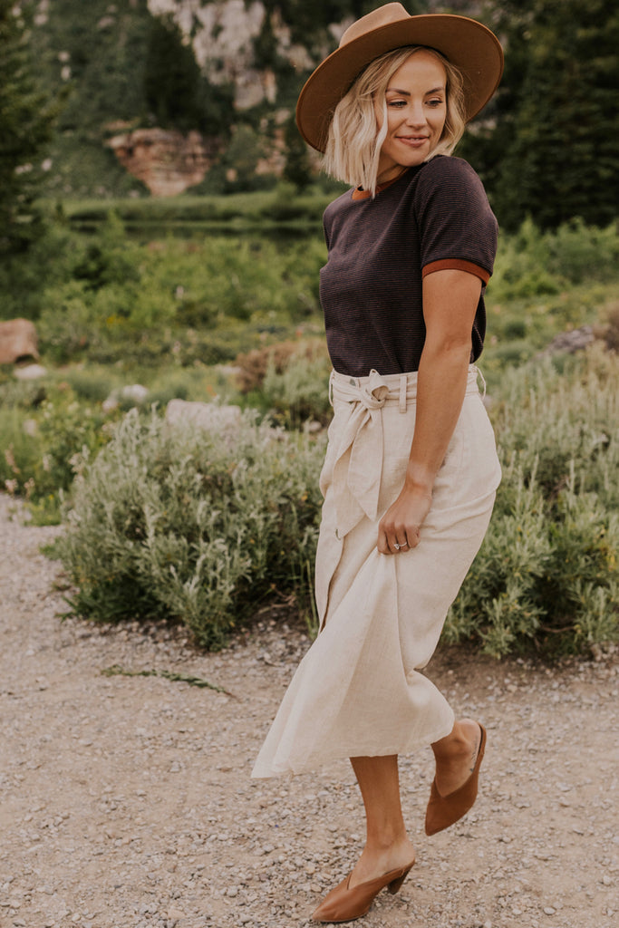 Cute Midi Skirt Outfits | ROOLEE