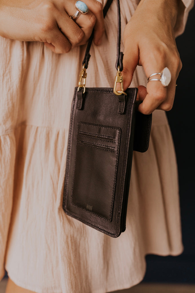 Small Leather Crossbody | ROOLEE