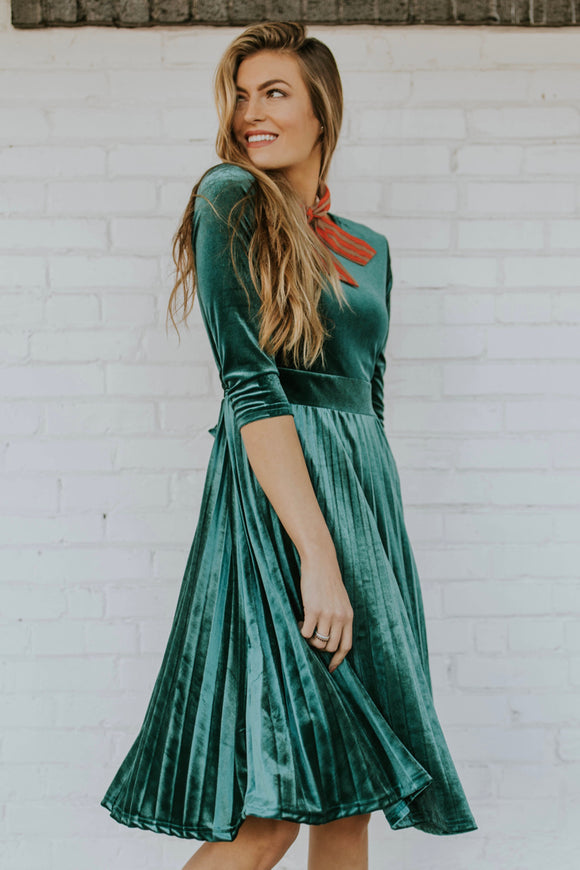 Meridian Velvet Dress | ROOLEE Dresses