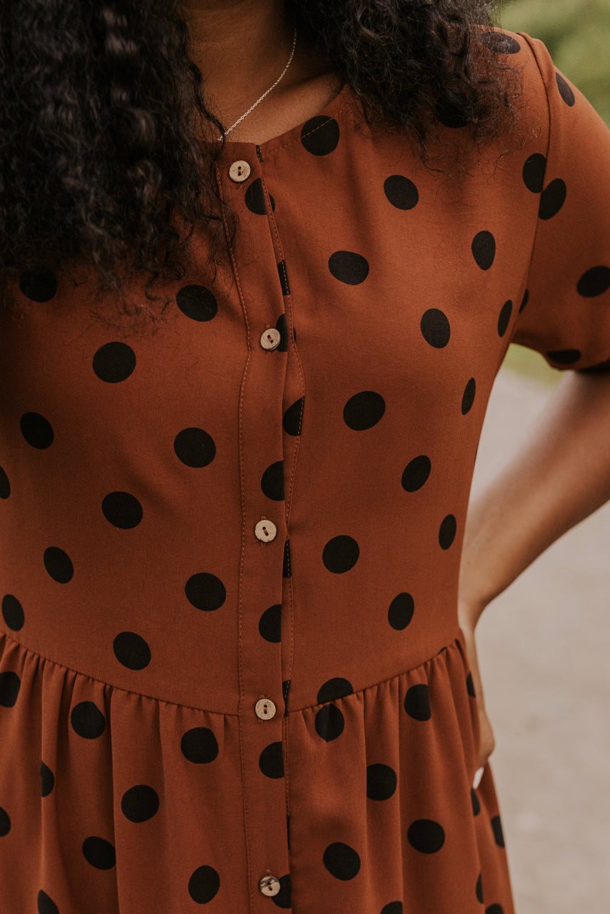 Button Down Dress | ROOLEE