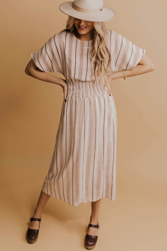 Spring Striped Dress | ROOLEE