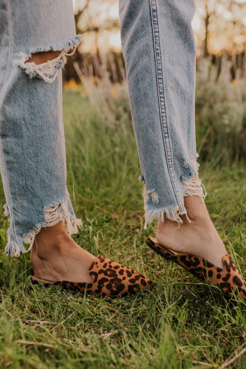 Leopard Print Mules | ROOLEE