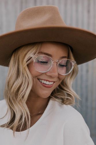 Clear Frame Computer Glasses | ROOLEE