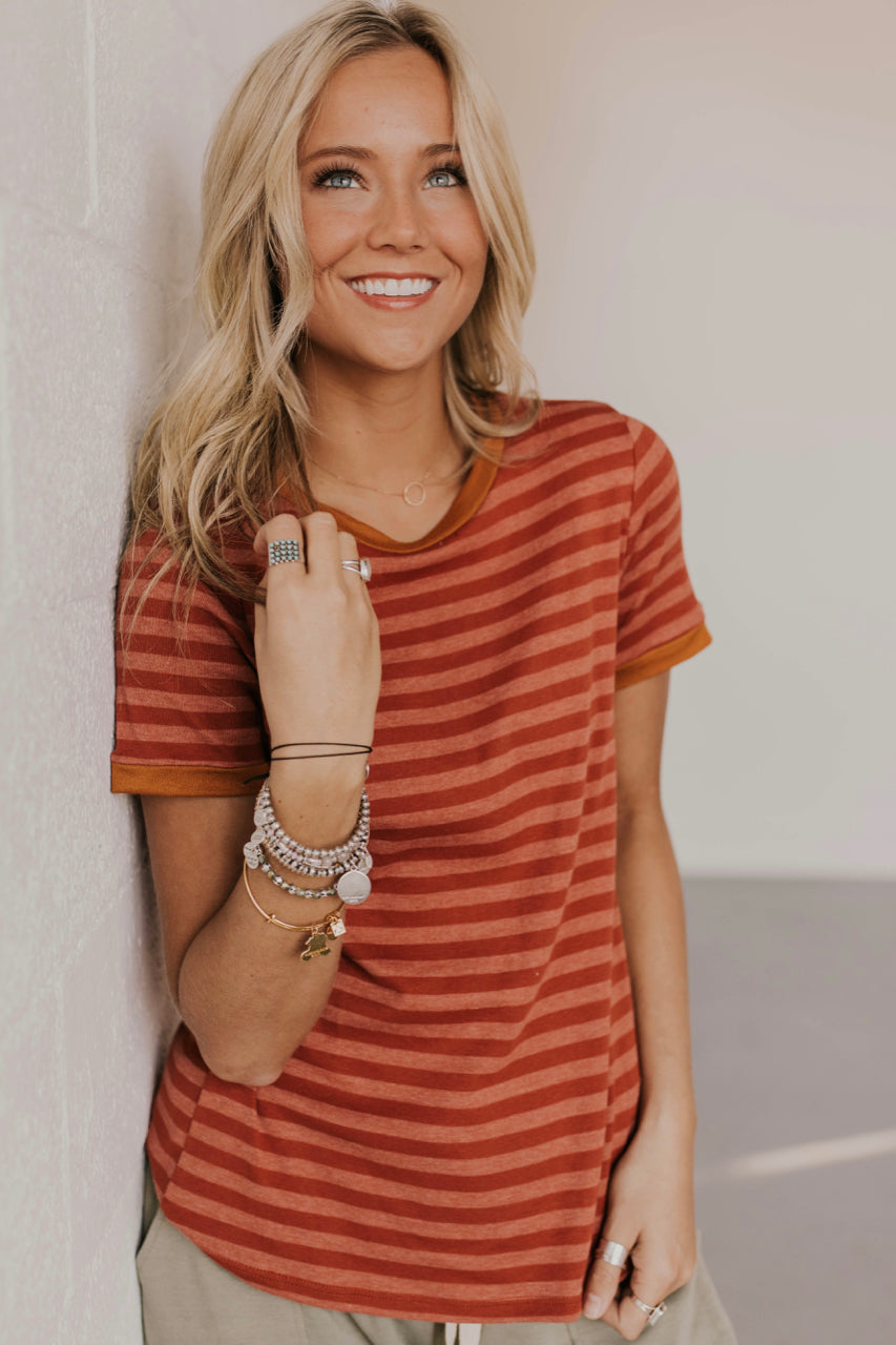 Contrast Tee Outfit Ideas | ROOLEE Tops