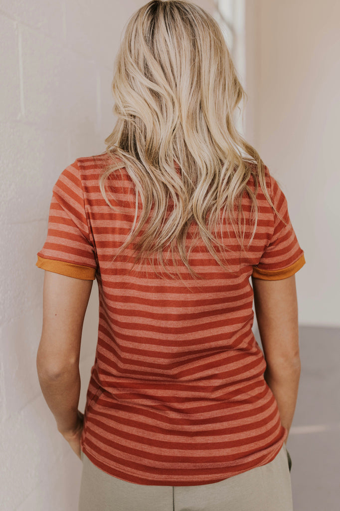 Stripe Tee Outfit Ideas | ROOLEE