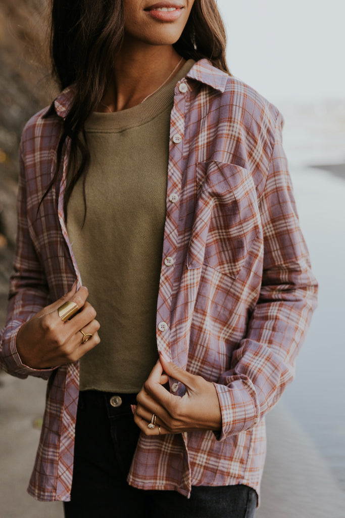 Collared Button Up for Women | ROOLEE