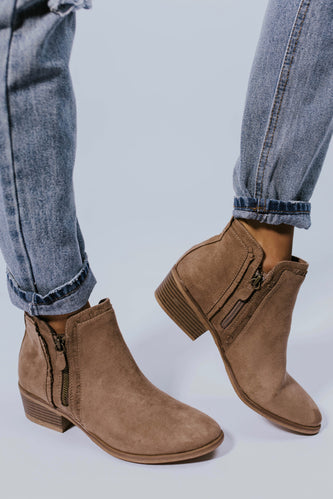 Patterson Detail Booties | ROOLEE Footwear