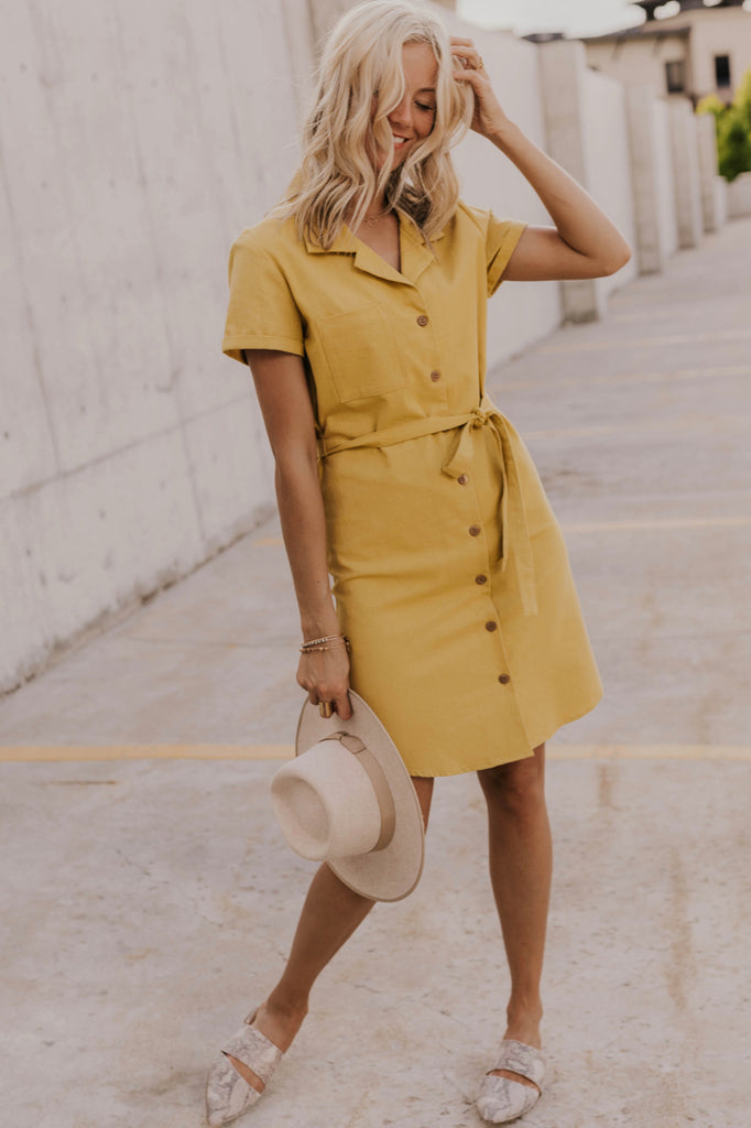 Summer Yellow Dress | ROOLEE