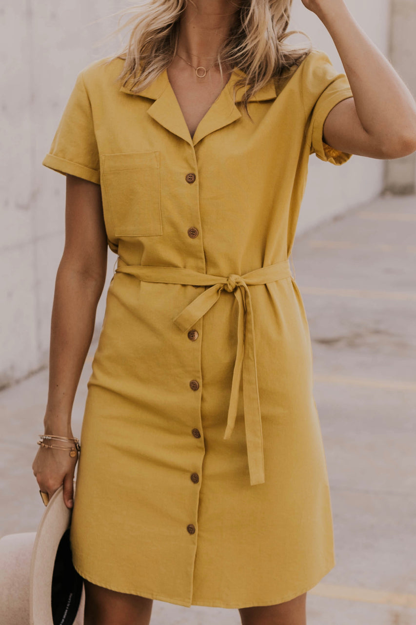 Button Up Summer Dress | ROOLEE