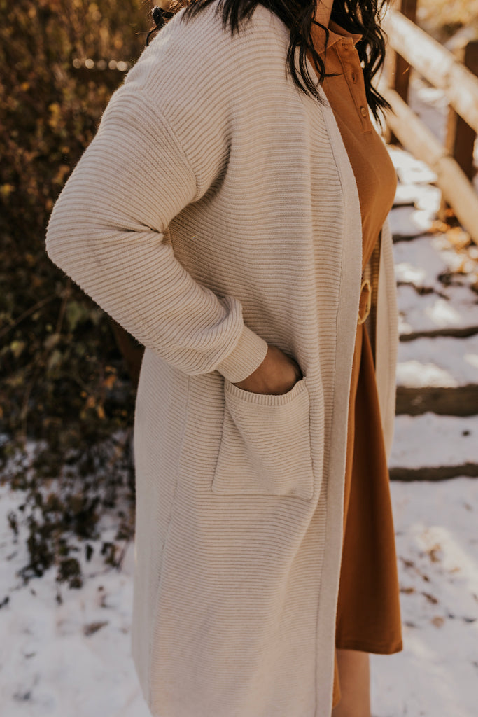 Heavy Knit Cardigans for Winter | ROOLEE