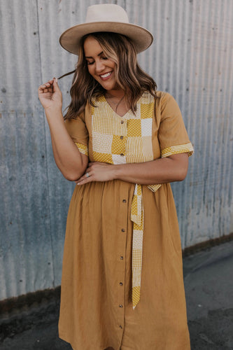 Mustard Women's Modest Dresses | ROOLEE