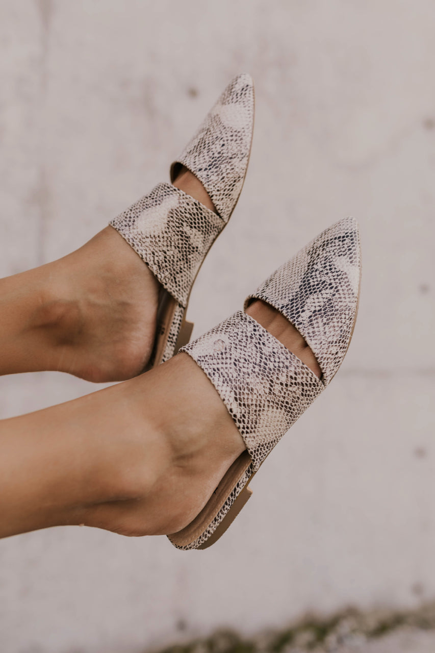Snake Skin Back to School Shoe | ROOLEE