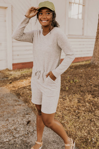 Long Sleeve Romper | ROOLEE