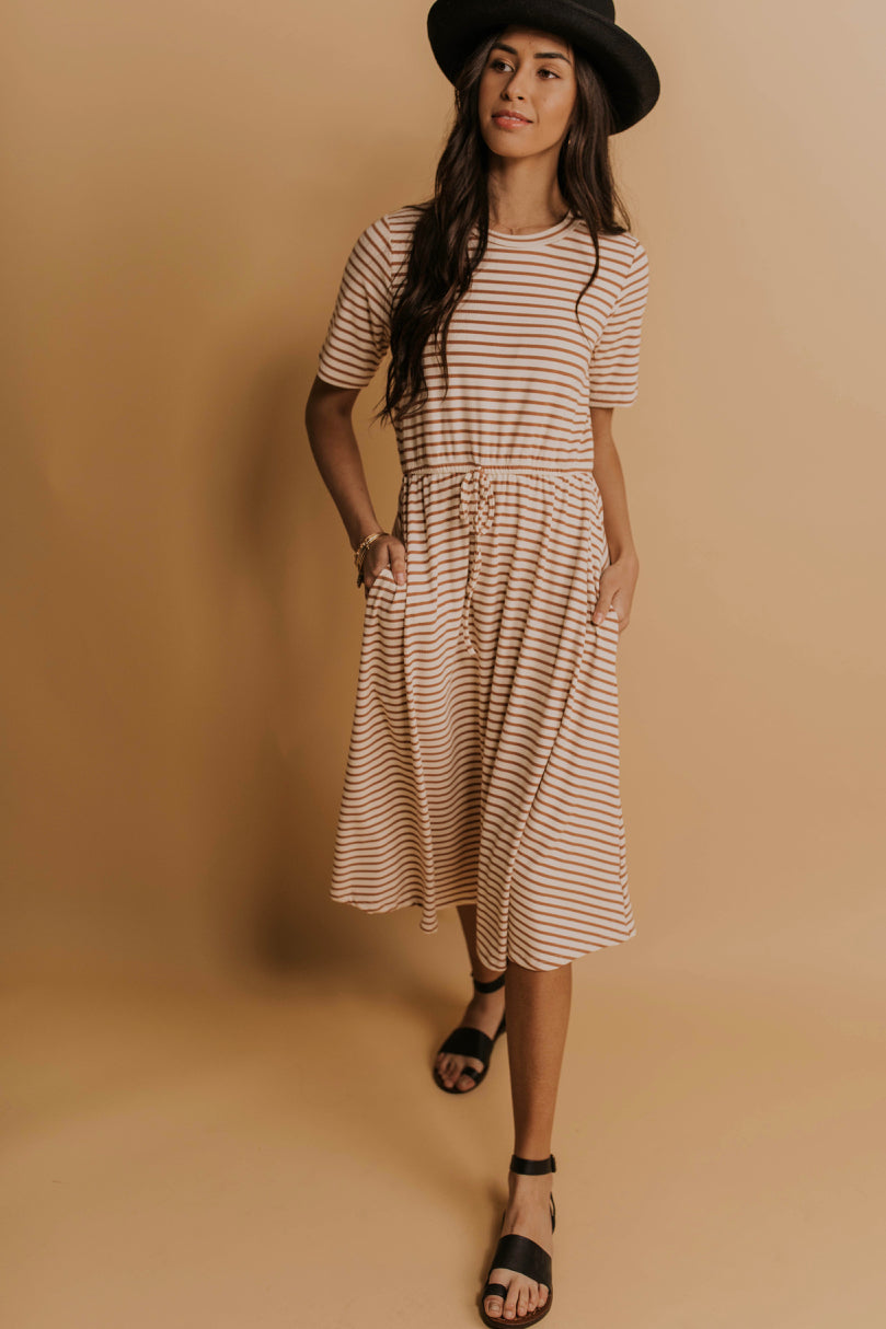 Spring Stripe Dress Ideas | ROOLEE