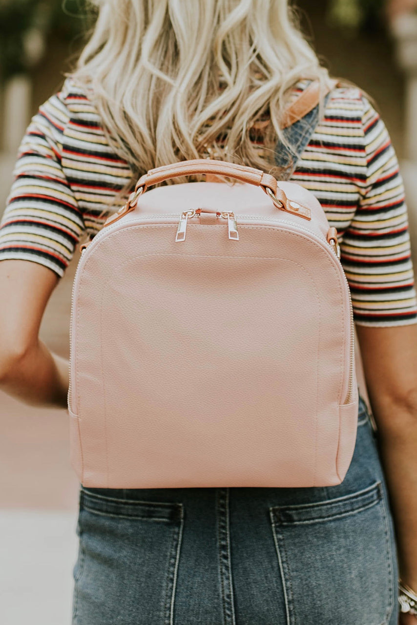 Little Manhattan Backpack in Pink | ROOLEE