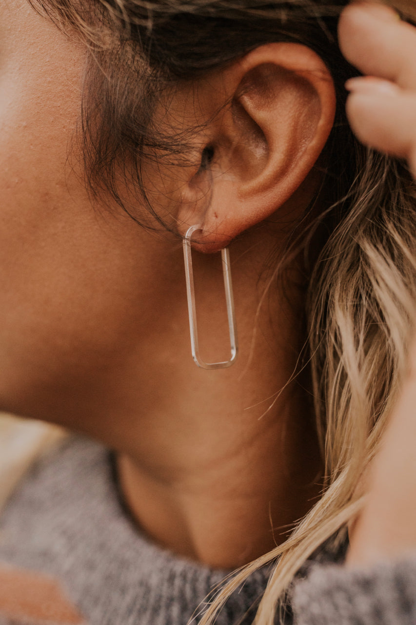 Silver Earrings | ROOLEE