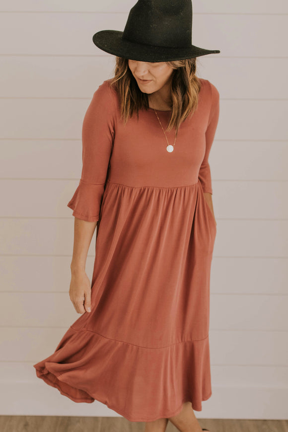 Nursing-Friendly Dress | ROOLEE