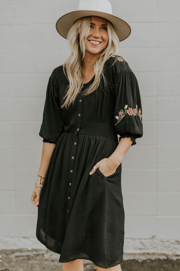 Farnsworth Detail Dress | ROOLEE