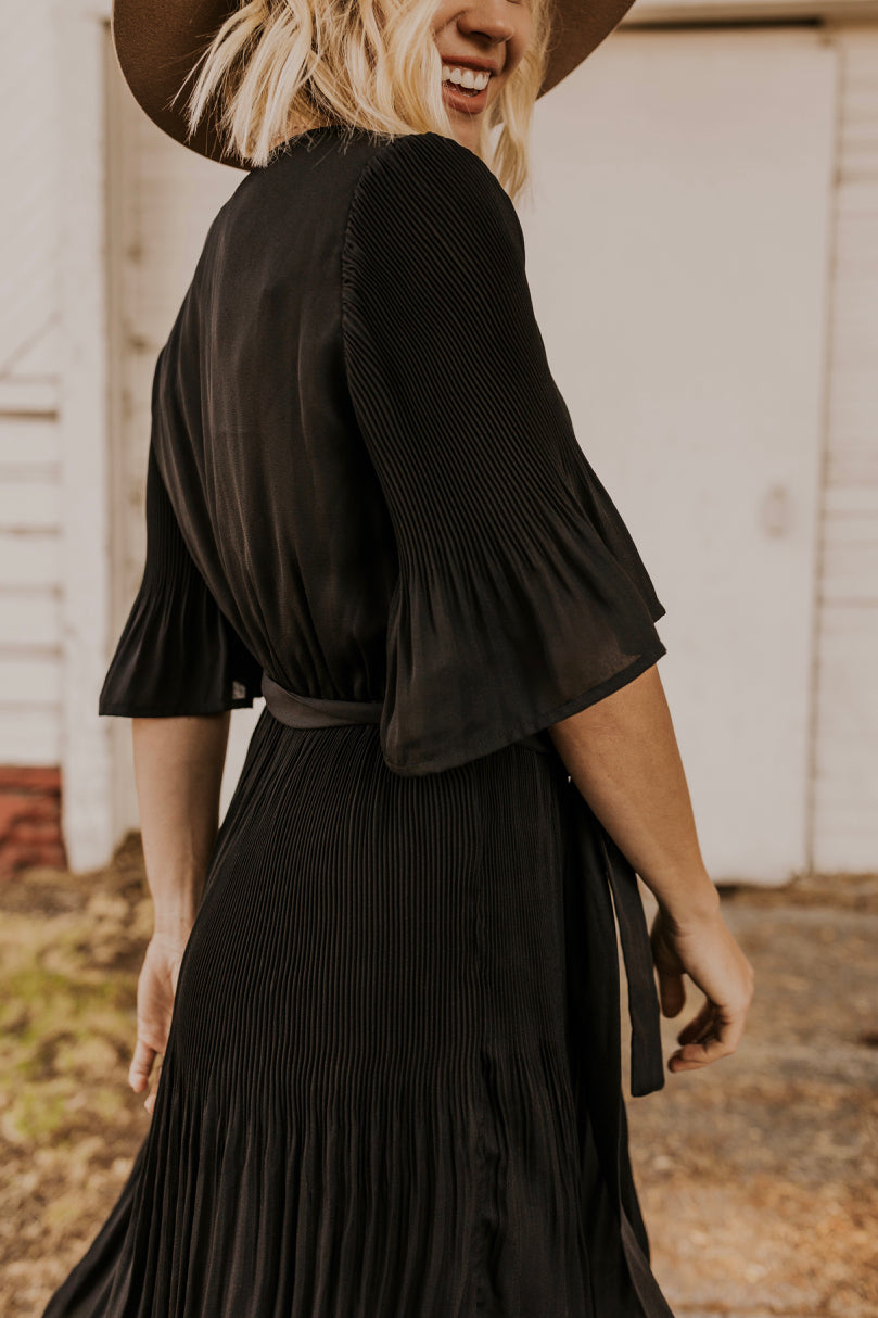 Modest Black Dress | ROOLEE