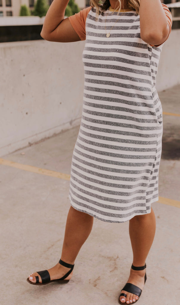 Striped Summer Dress | ROOLEE