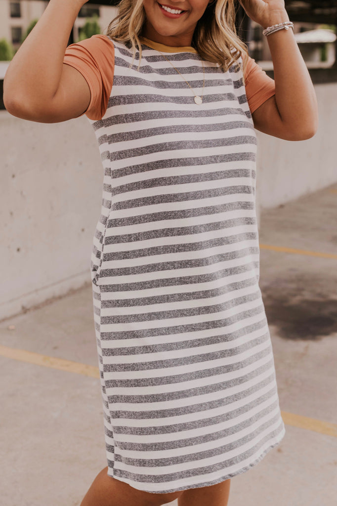 Summer French Terry Dress | ROOLEE