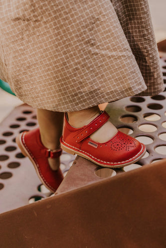 Red Dress Shoes for Girls | ROOLEE