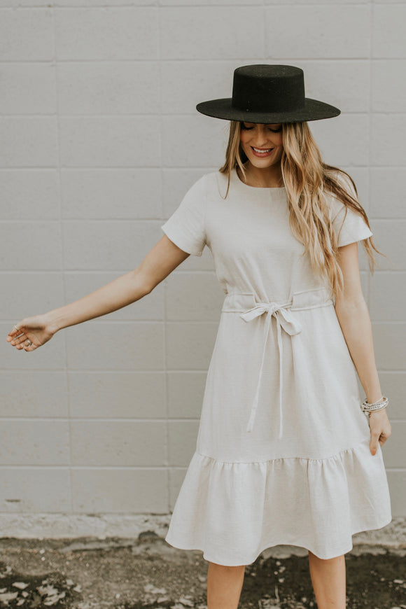 Hanover Linen Dress | ROOLEE
