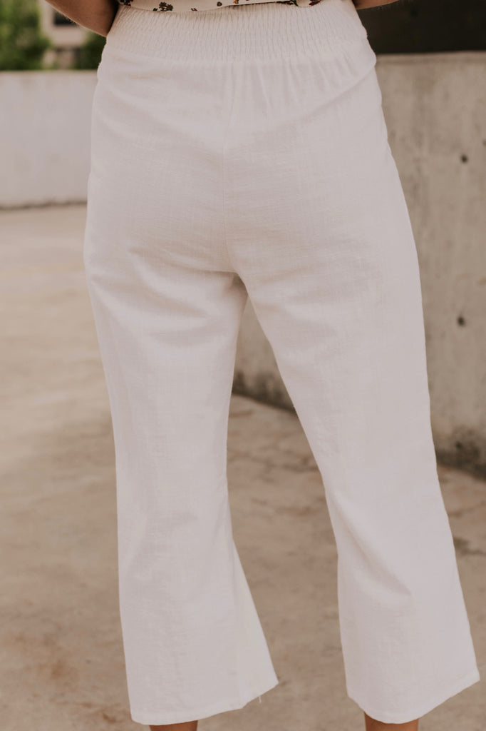 White Casual Pants | ROOLEE