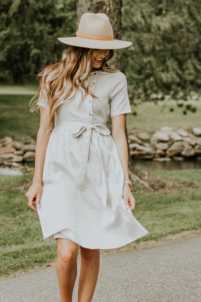 Brantford Lane Stripe Dress | ROOLEE