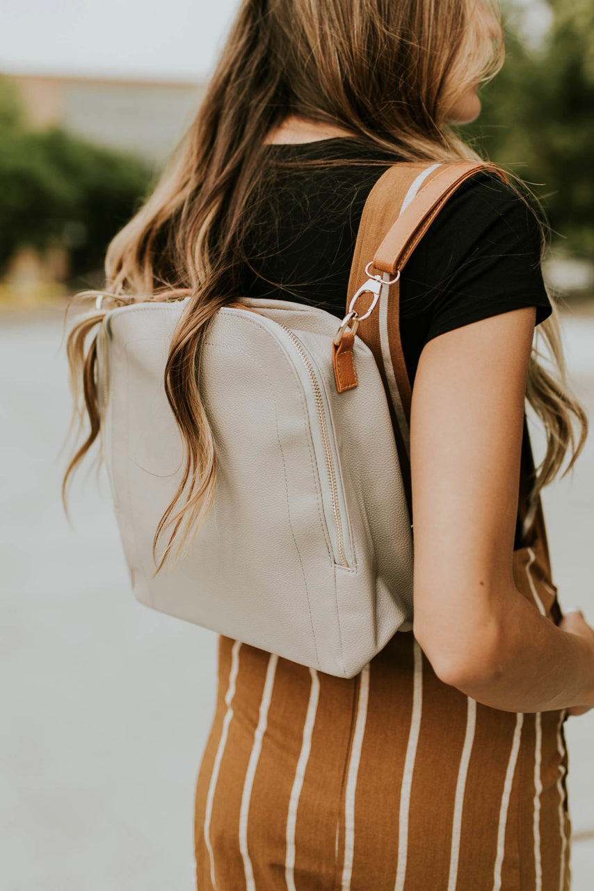 Little Manhattan Backpack in Grey | ROOLEE