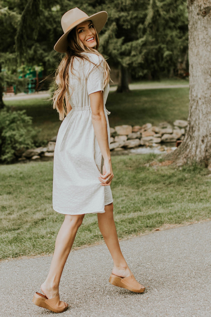 Braided Embroidery Dress | ROOLEE