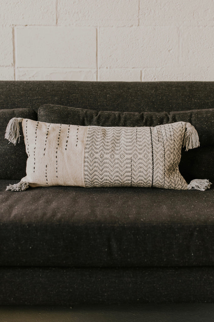Magnolia Home Amie Pillow in Grey