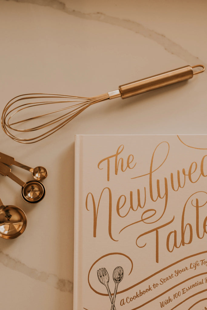 Gold Baking Whisk