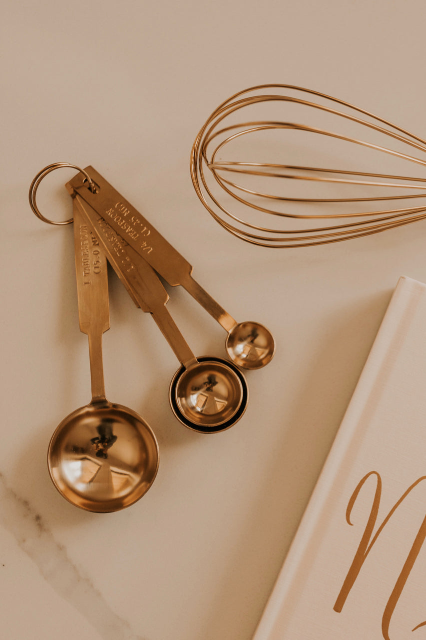 Gold Measuring Spoons | ROOLEE