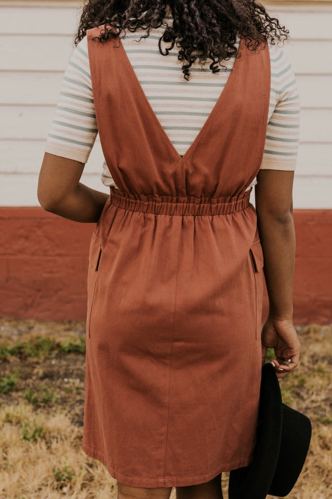 Rust Dress | ROOLEE
