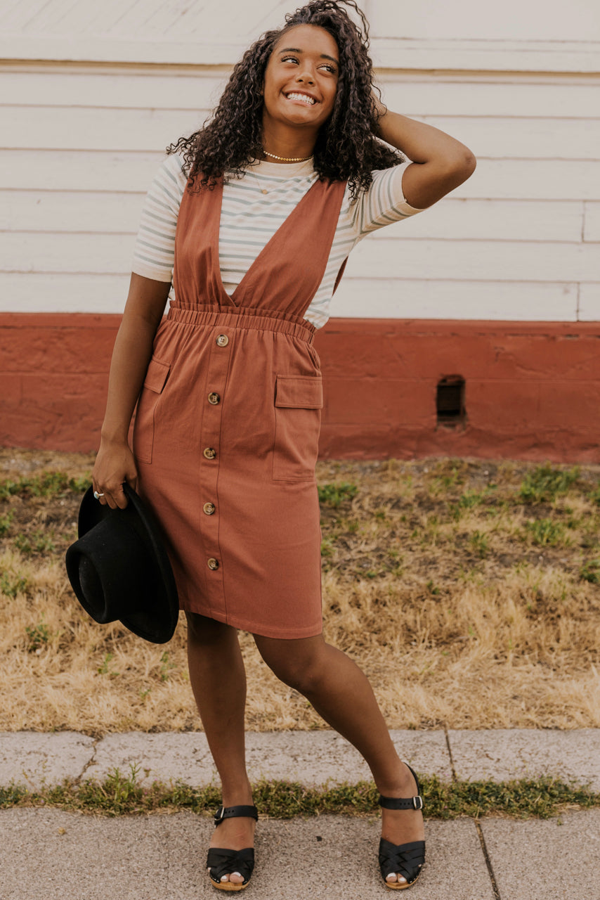 Rust Jumper Outfit | ROOLEE