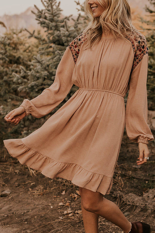 Bohemian Floral Dress | ROOLEE